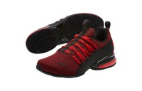 Puma Axelion Mesh Sneakers High Risk Red- Black Sales
