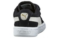 Puma Suede 2 Straps Preschool Sneakers Black- White Sales