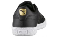 Puma Astro Cup Leather Trainers Black- Black Sales