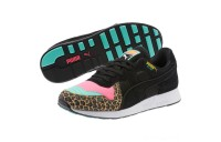 Puma RS-100 Party Cheetah Sneakers KNOCKOUT PINK- Black Sales
