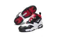 Puma Source Mid Sneakers Black- White-High Risk Red Sales