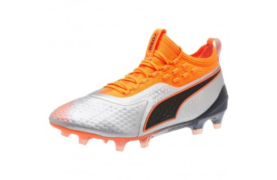 Puma PUMA ONE 1 Syn FG/AGSilver-Orange-Black Sales