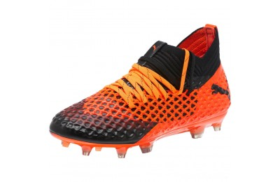 Puma FUTURE 2.1 NETFIT FG/AG JrBlack-Orange Sales