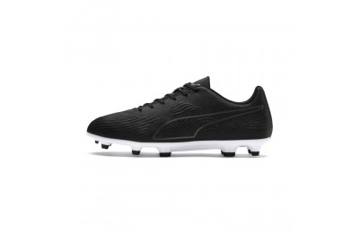 Puma PUMA ONE 19.4 FG/AG Men's Soccer Cleats Black- Black-White Sales