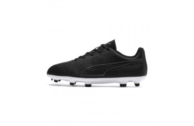 Puma PUMA ONE 19.4 FG/AG Soccer Cleats JR Black- Black-White Sales