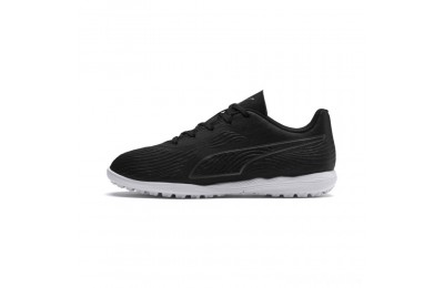 Puma PUMA ONE 19.4 TT Soccer Cleats JR Black- Black-White Sales