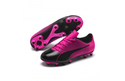 Puma PUMA Spirit II FG Jr Black-KNOCKOUT PINK Sales