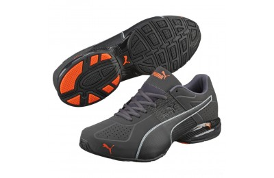 Puma Cell Surin 2 Matte Men's Training Shoes Asphalt-Blk-Shocking Orange Sales