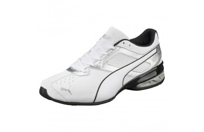 Puma Tazon 6 FM Men's Sneakers White-puma silver-Black Sales