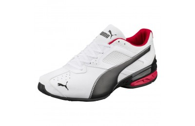 Puma Tazon 6 FM Men's Sneakers White-Black-puma silver Sales