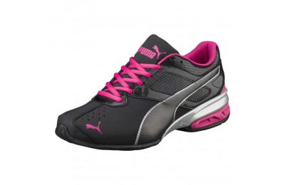Puma Tazon 6 FM Women's Sneakers Black-silver-beetroot purple Sales