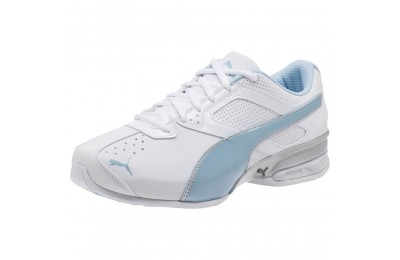 Puma Tazon 6 Wide Women's Sneakers White-CERULEAN-Silver Sales