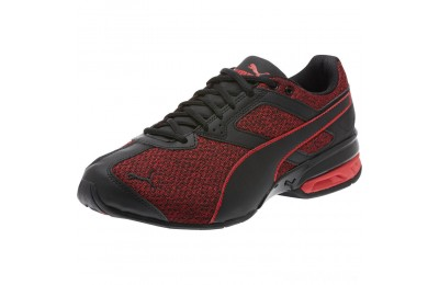Puma Tazon 6 Knit Men's Sneakers Black-Toreador Sales