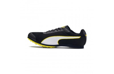 Puma evoSPEED Star 6 Men's Track SpikesPeacoat- Black-Yellow Sales