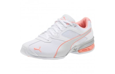 Puma Tazon 6 Metallic Women's Sneakers White-Silver-Fluo Peach Sales