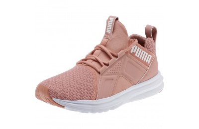 Puma Zenvo Women's Training Shoes Cameo Brown- White Sales