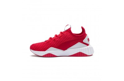 Puma Defy Women's Sneakers Hibiscus - White Sales