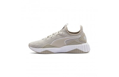 Puma Defy Women's Sneakers Silver Gray- White Sales