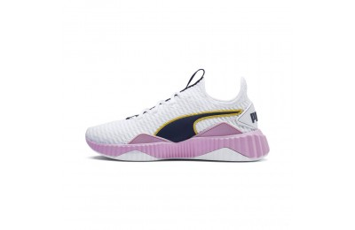 Puma Defy Women's Sneakers White-Pale Pink Sales