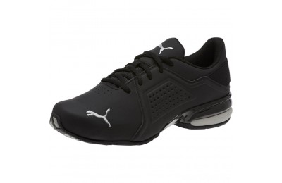 Puma Viz Runner Men's Running Shoes Black- Silver Sales