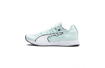Puma SPEED RACER Women's Running Shoes Fair Aqua-White-Black Sales
