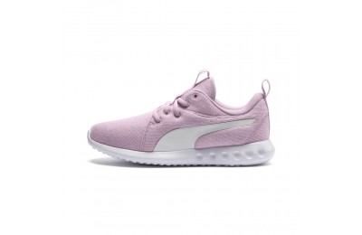 Puma Carson 2 Knit Women's Running Shoes Winsome Orchid- White Sales