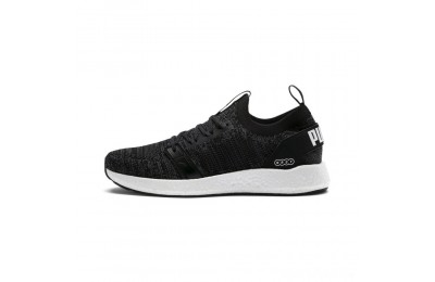 Puma NRGY Neko Engineer Knit Men's Running Shoes Black-Iron Gate Sales