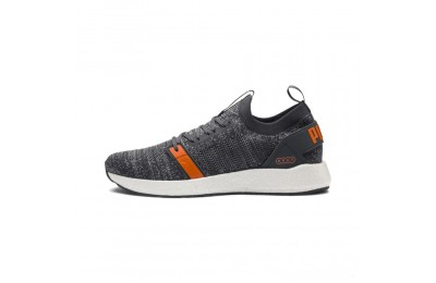 Puma NRGY Neko Engineer Knit Men's Running Shoes IronGate-Firecracker-Quarry Sales