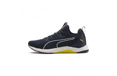 Puma HYBRID Runner Men's Running Shoes Ponderosa Pine-BlazingYellow Sales