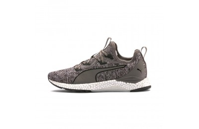 Puma HYBRID Runner Men's Running Shoes Charcoal Gray- White Sales