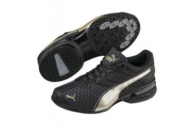 Puma Tazon 6 Luxe Women's Sneakers Black- Team Gold Sales