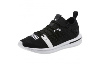 Puma IGNITE Limitless SR FUSEFIT Running Shoes Black- White Sales