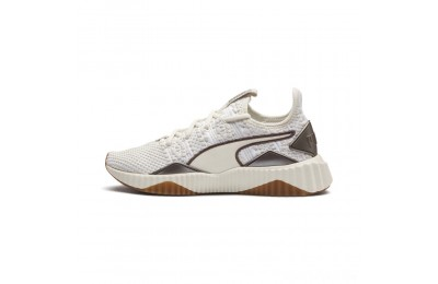Puma Defy Luxe Women's Sneakers Whisper White-Metallic Ash Sales