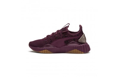 Puma Defy Luxe Women's Sneakers Fig-Metallic Ash Sales