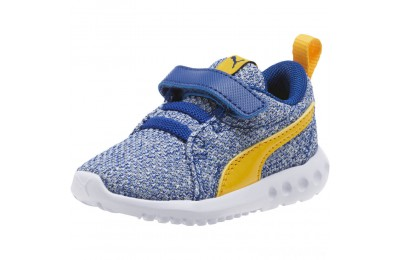 Puma Carson 2 Bold Knit Sneakers INFSodalite Blue-Spectra Yellow Sales