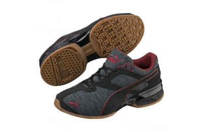 Puma Tazon 6 Heather Rip Sneakers JRIron Gate-Black-Pomegranate Sales