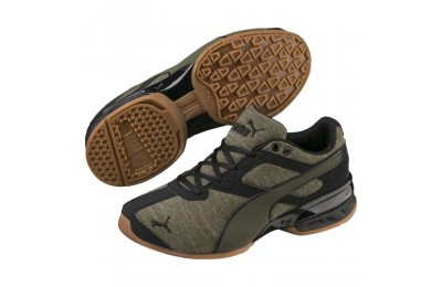 Puma Tazon 6 Heather Rip Sneakers JRForest Night- Black Sales