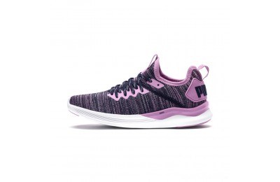 Puma IGNITE Flash evoKNIT Sneakers JROrchid-Peacoat Sales