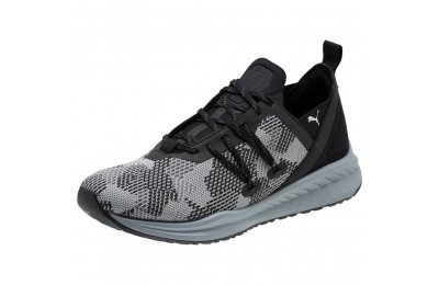 Puma IGNITE Ronin Shatter Men's Running Shoes Black-Iron Gate Sales