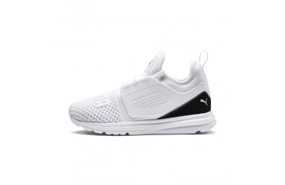 Puma IGNITE Limitless 2 AC PS Kids' Sneakers White- Black Sales