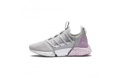 Puma HYBRID Rocket Runner Women's Running Shoes GlacierGry-WinsmOrchid-White Sales