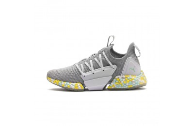 Puma HYBRID Rocket Runner Women's Running Shoes Quarry- White-Fair Aqua Sales