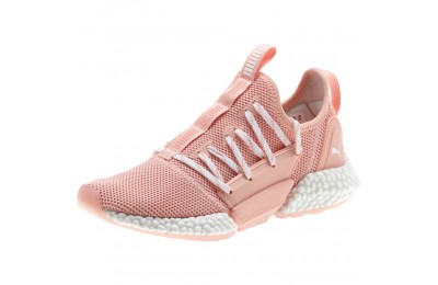 Puma HYBRID Rocket Runner Women's Running Shoes Peach Bud- White Sales
