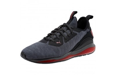 Puma Cell Descend Men's Running Shoes Pma Blk-Rbn Rd-Pma Agd Slvr Sales