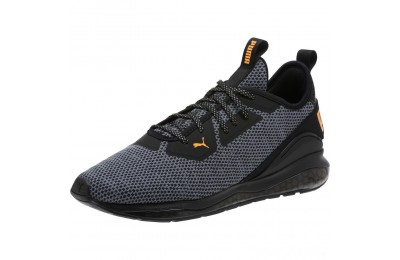 Puma Cell Descend Men's Running Shoes Black-Orange Pop Sales
