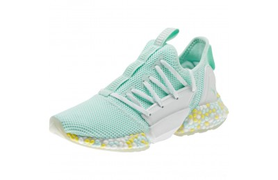 Puma HYBRID Rocket Runner JRFairAqua-White-BlazingYellow Sales