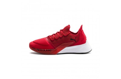 Puma Xcelerator Men's Sneakers High Risk Red-White-Black Sales