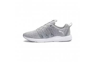 Puma Prowl Alt Knit Women's Training Shoes Quarry- White Sales