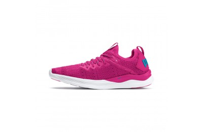 Puma IGNITE Flash Iridescent Trailblazer Women's Running Shoes Fuchsia Purple-Caribbean Sea Sales