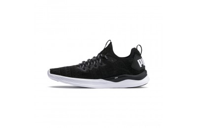 Puma IGNITE Flash Iridescent Trailblazer Women's Running Shoes Black- White Sales